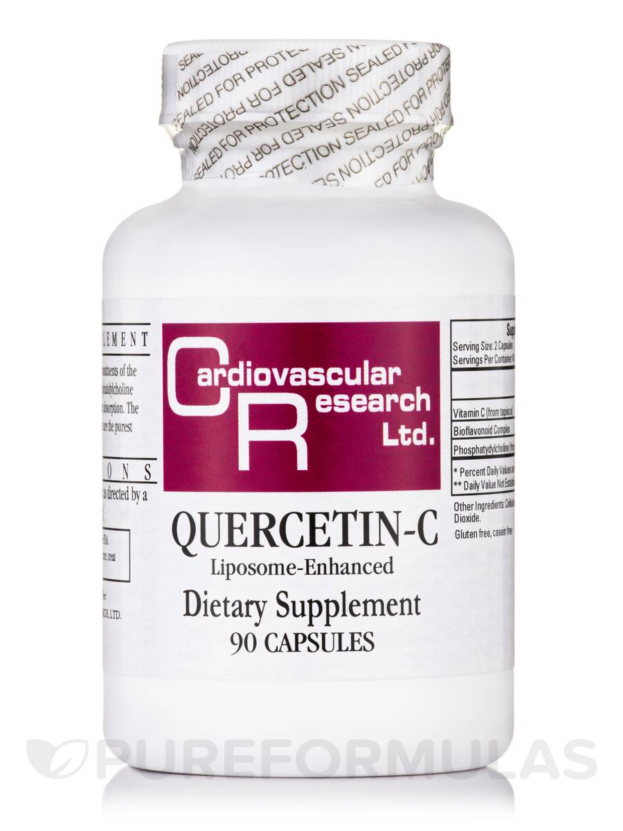 Quercetin-C Liposome-Enhanced - 90 Capsules