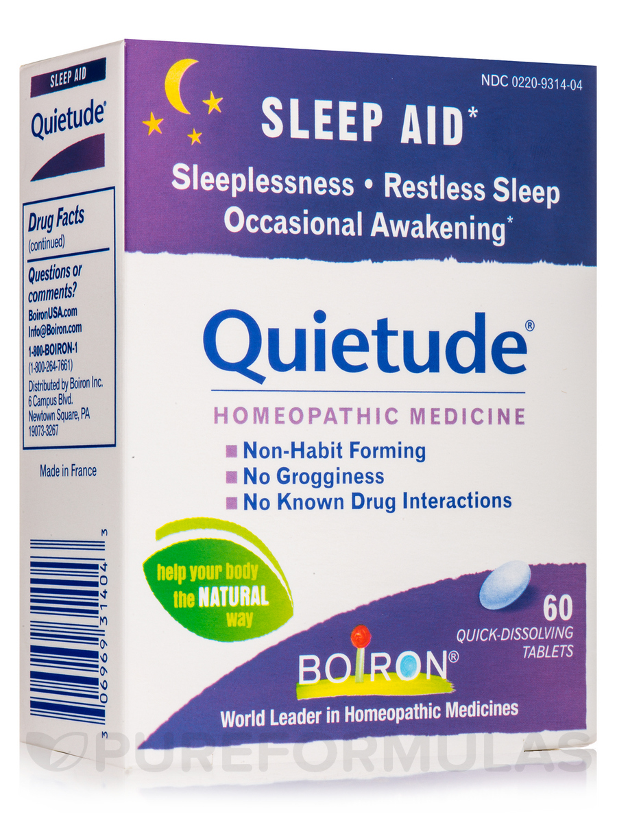 Quietude® (Sleep Aid) - 60 Tablets