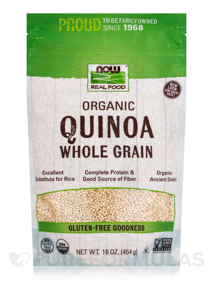 LivingNow™ Quinoa Grain (Certified Organic) - 16 oz (454 Grams)