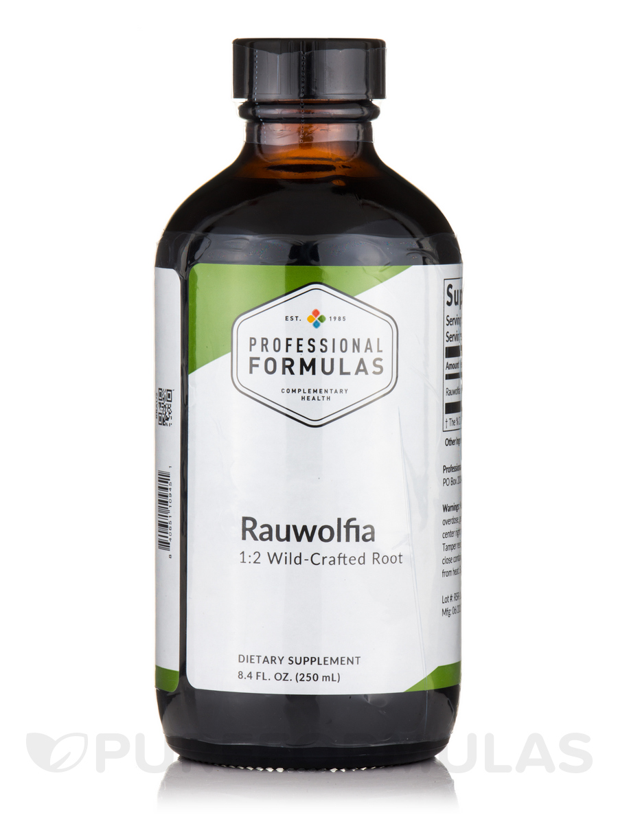 Rauwolfia (Rauwolfia serpentina) - 8.4 fl. oz (250 ml)