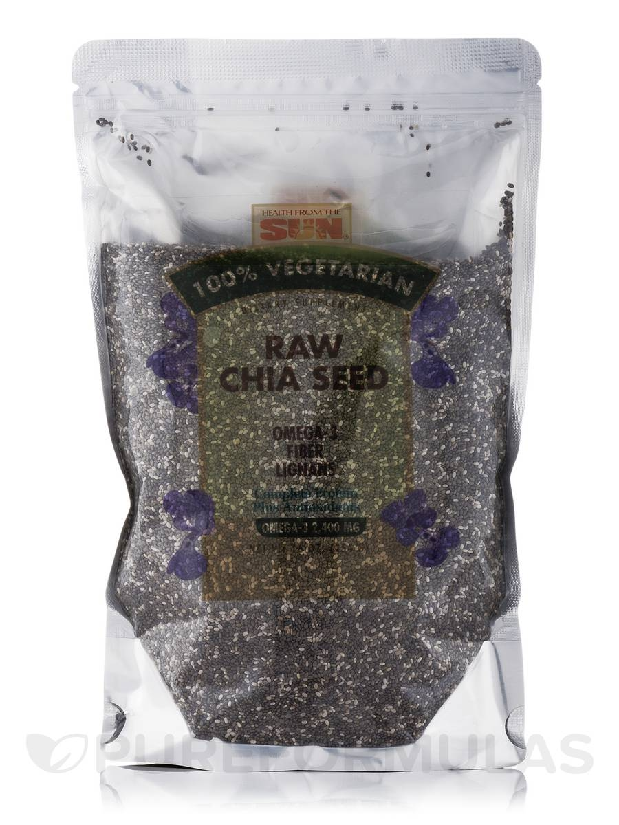 Raw Chia Seed - 16 oz (454 Grams)