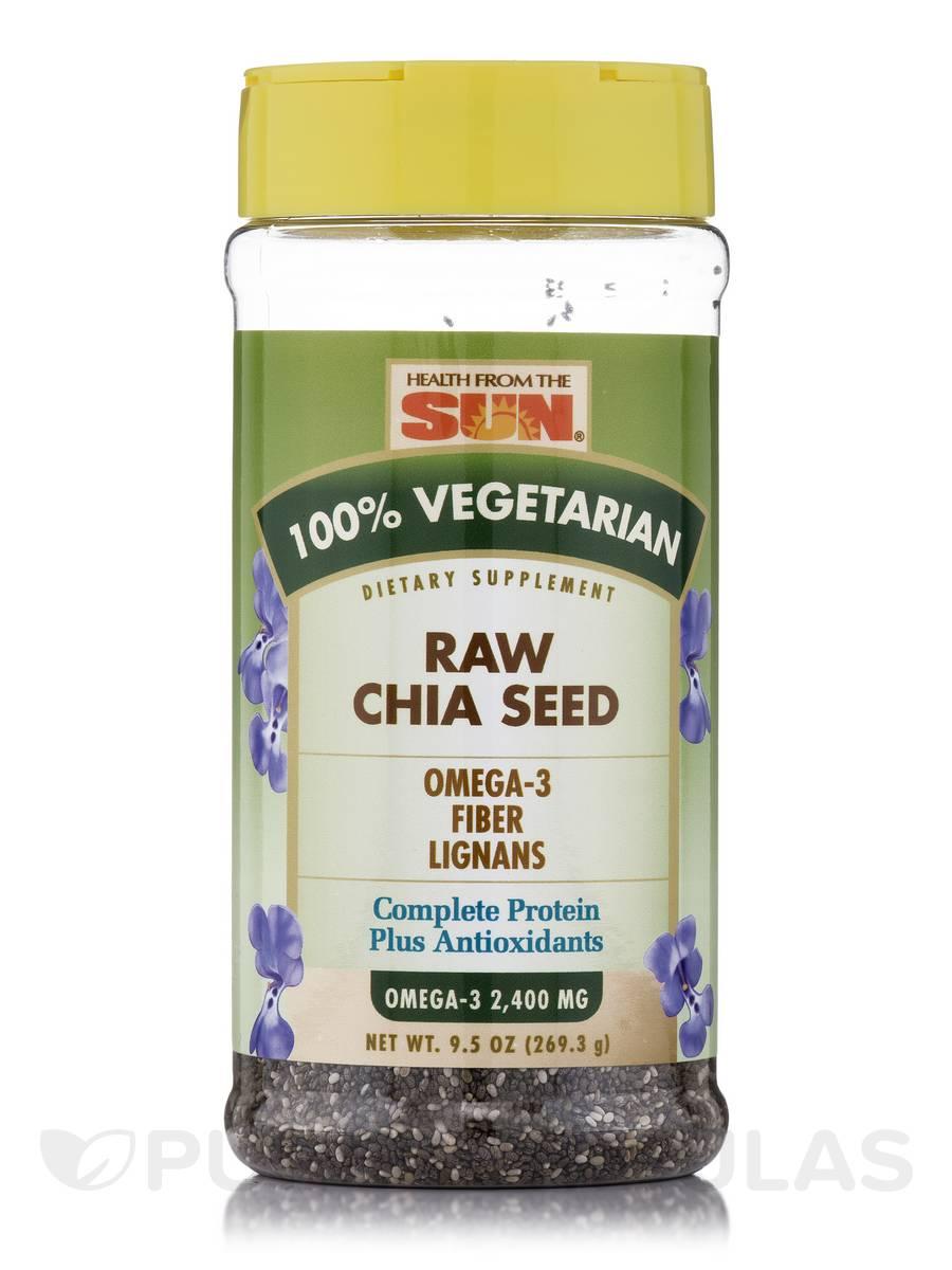 Raw Chia Seed - 9.5 oz (269.3 Grams)