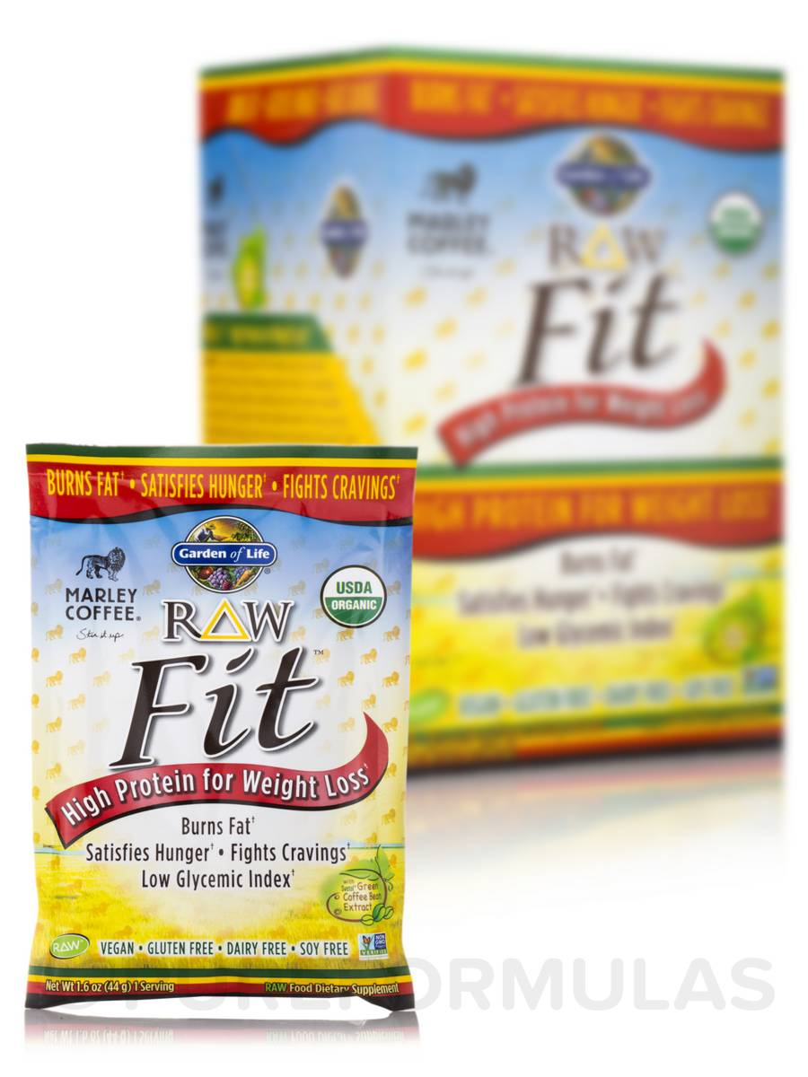 RAW Fit™ Marley Coffee Powder - 10 Packets