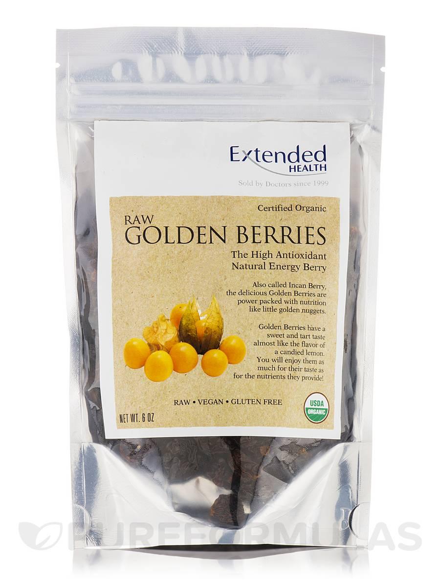 Raw Golden Berries (Organic) - 6 oz