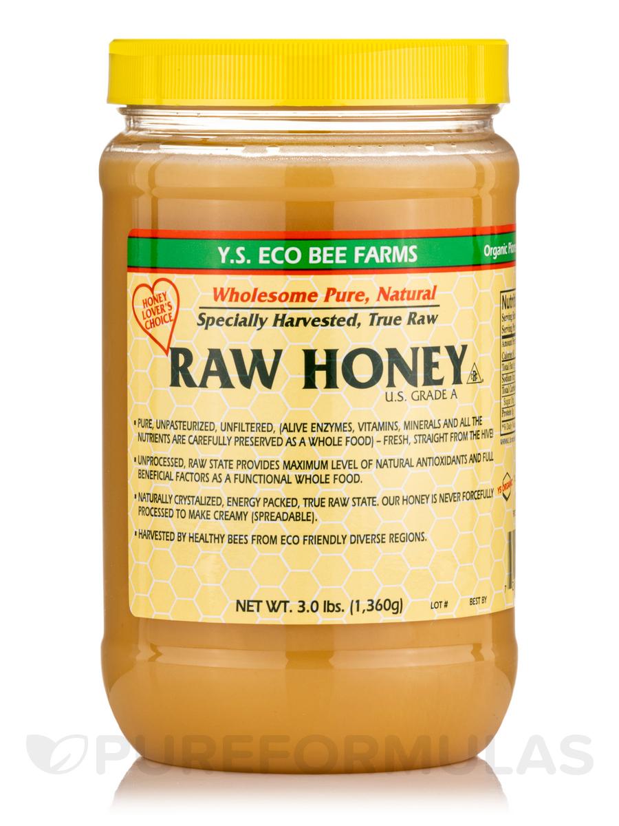Raw Honey - 48 oz (1,360 Grams)