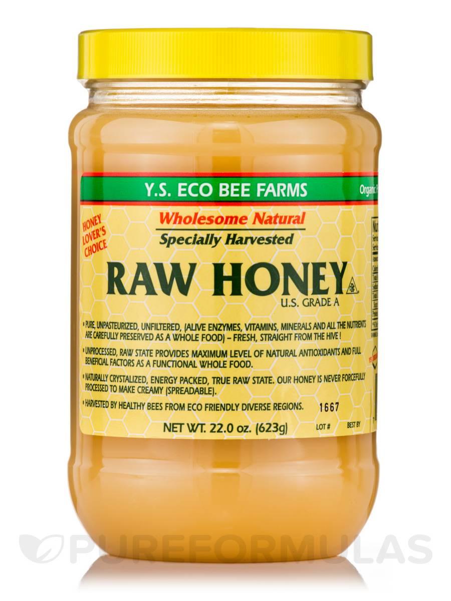Raw Honey (U.S. Grade A) - 22.0 oz (623 Grams)