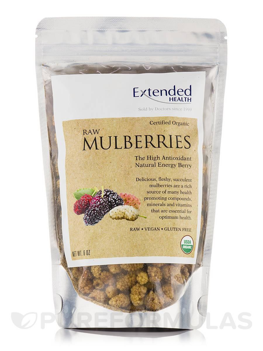 Raw Mulberries - 6 oz