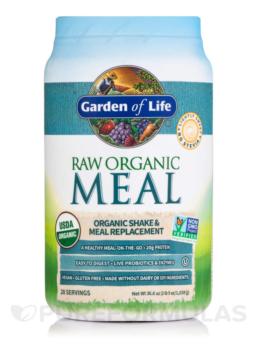 RAW Organic Meal Powder, Original Flavor - 36.6 oz (1,038 Grams)