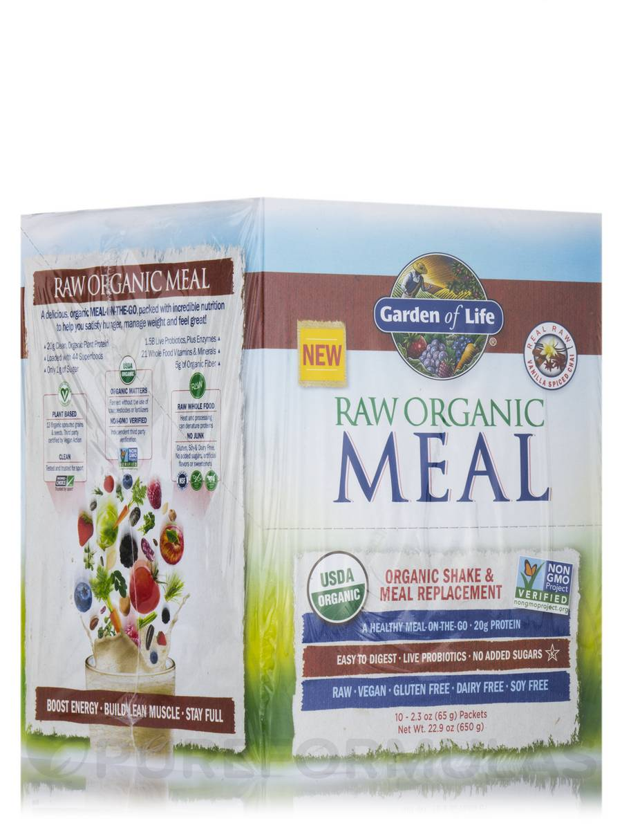 RAW Meal™ Vanilla Spiced Chai - Box of 10 Packets