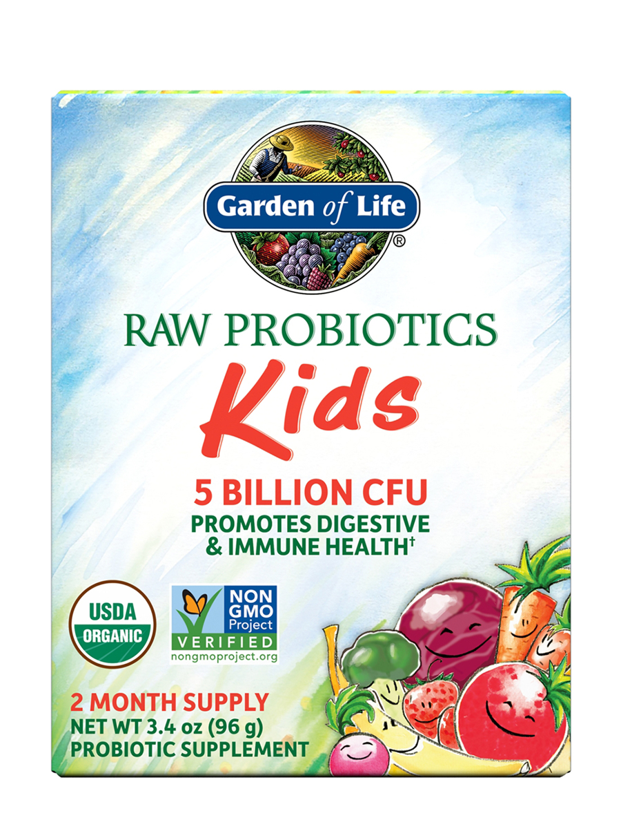 RAW Organic Probiotic Kids Powder 34 oz 96 Grams