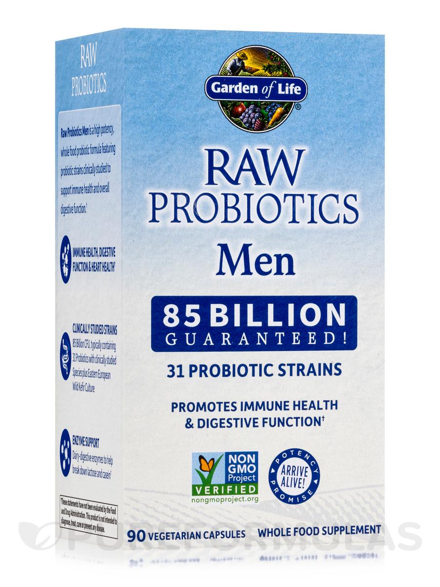 RAW Probiotics Men - 90 Vegetarian Capsules