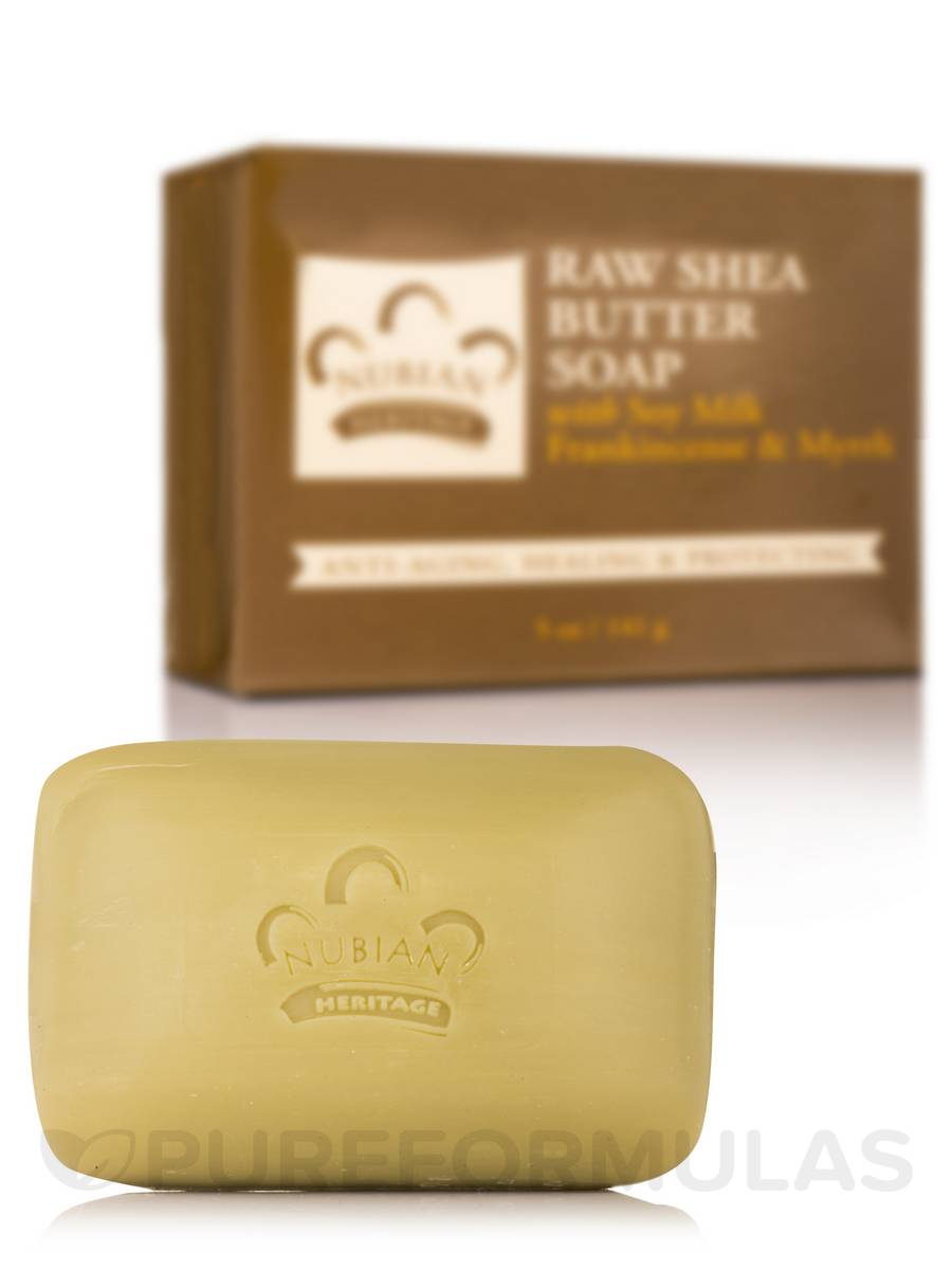 Raw Shea Butter Bar Soap - 5 oz (141 Grams)