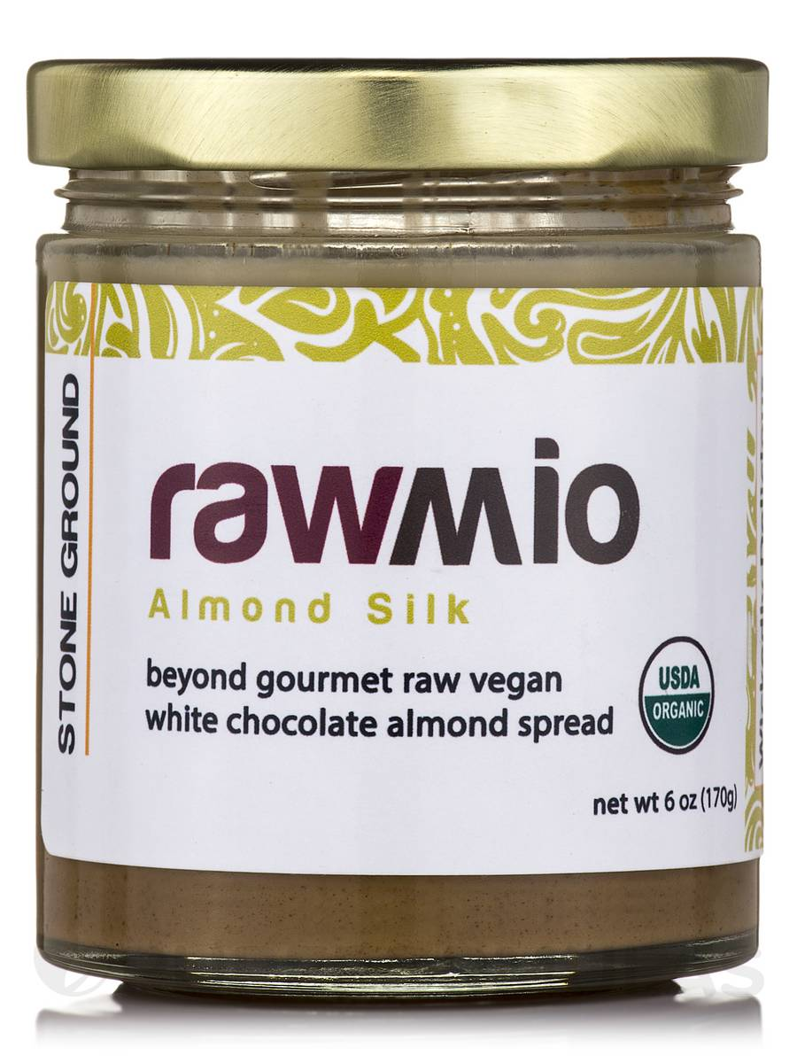 Rawmio Almond Silk Spread - 6 oz (170 Grams)