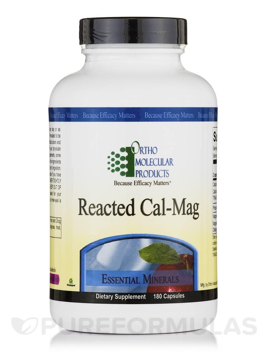 Reacted Cal-Mag - 180 Capsules