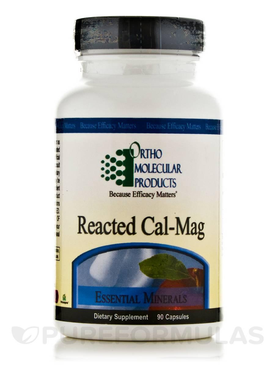 Reacted Cal-Mag - 90 Capsules