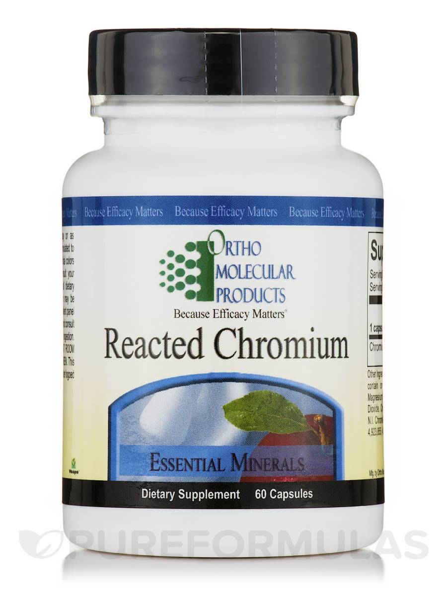 Reacted Chromium - 60 Capsules