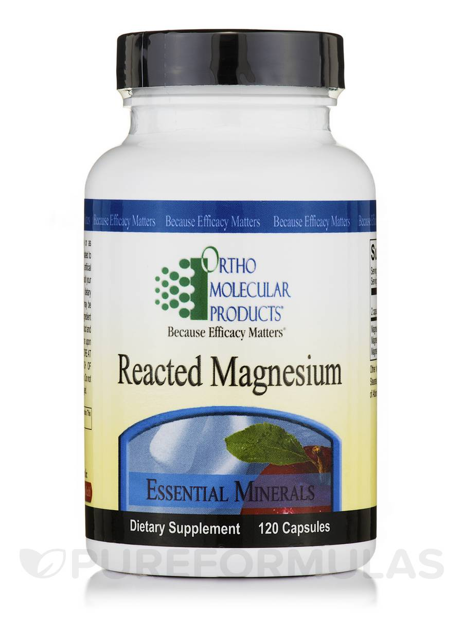 Reacted Magnesium - 120 Capsules