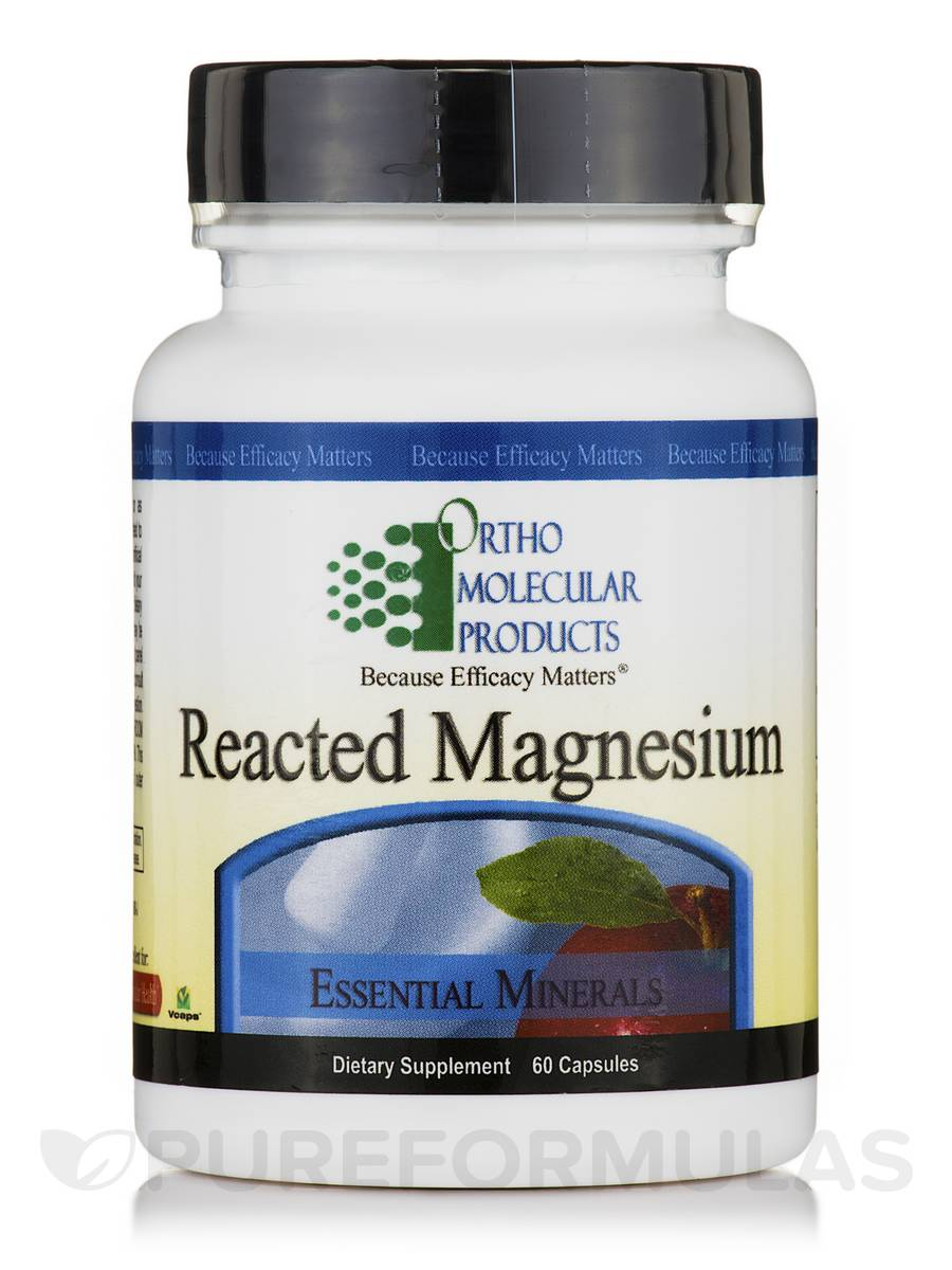 Reacted Magnesium - 60 Capsules