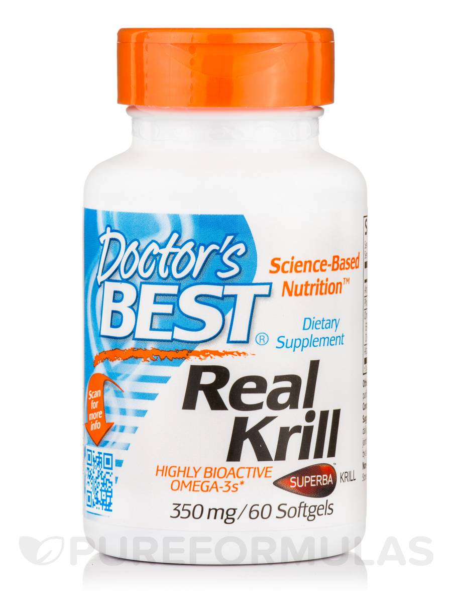Real Krill 350 mg - 60 Softgel Capsules