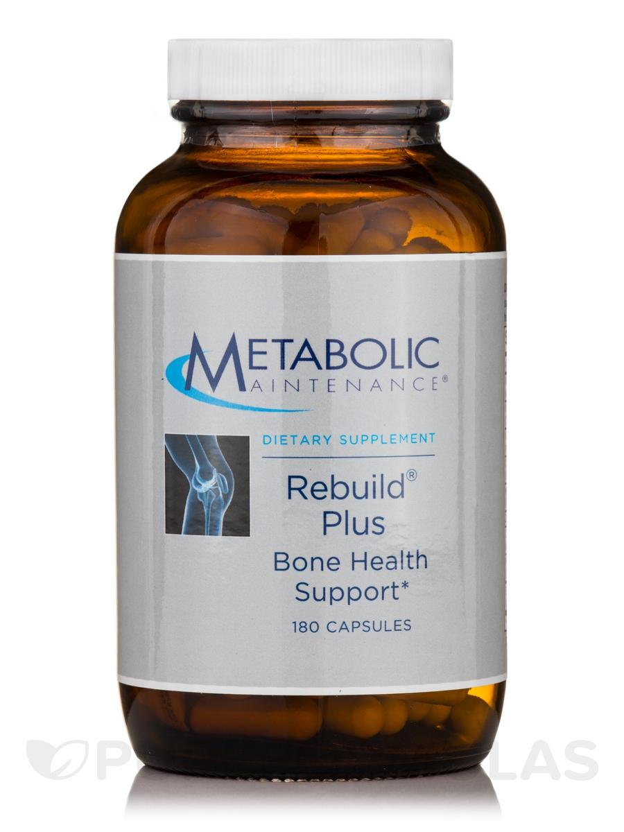 Rebuild Plus (Osteoporosis Formula) - 180 Capsules