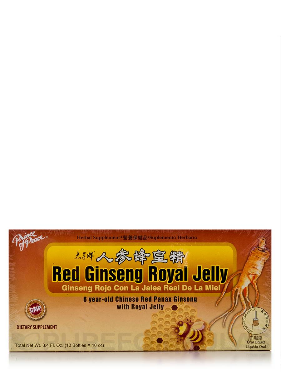 Red Ginseng Royal Jelly 10 cc - 10 Bottles