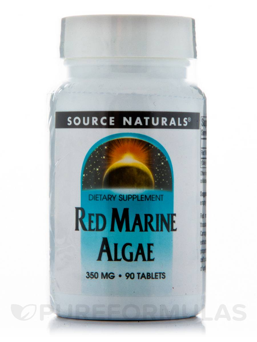 Red Marine Algae 350 mg - 90 Tablets