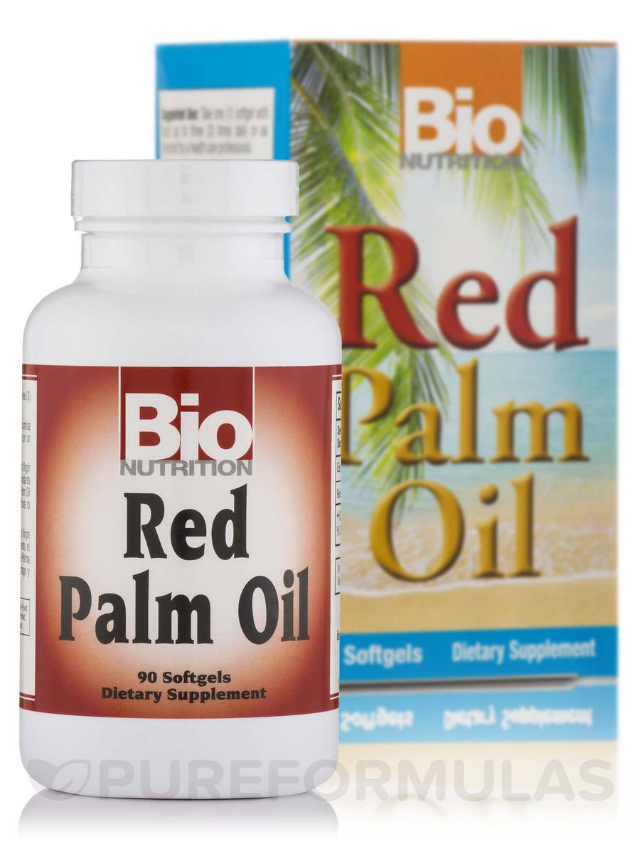 Red Palm Oil - 90 Softgels