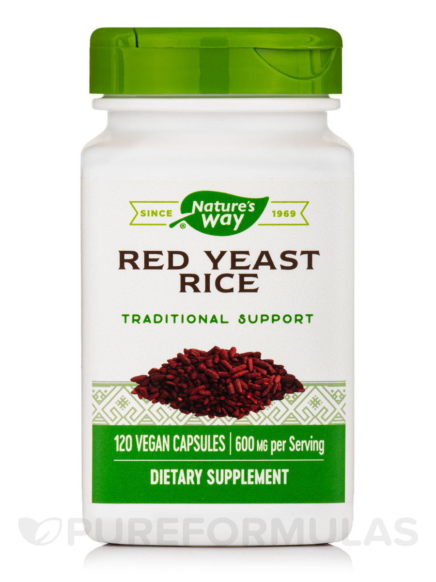 Red Yeast Rice - 120 VCaps