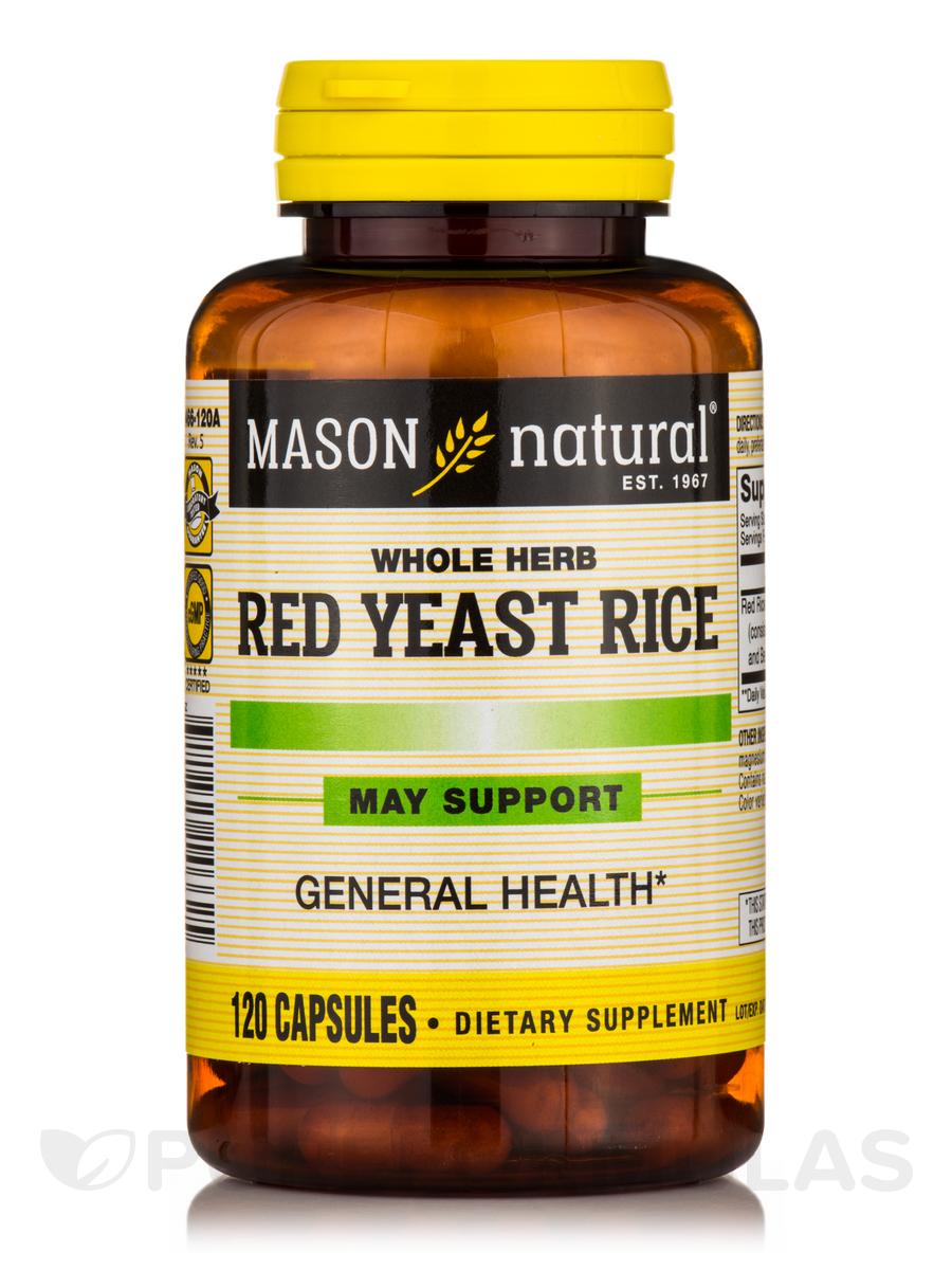 Red Yeast Rice - 120 Capsules