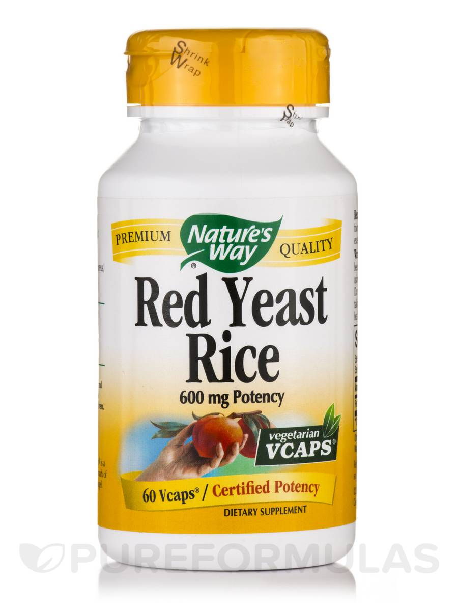 Red Yeast Rice - 60 VCaps