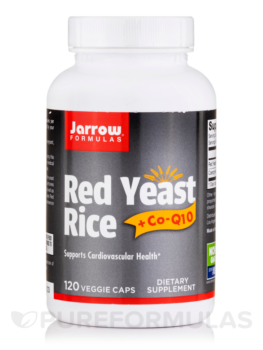 red yeast rice co q10 120 capsules