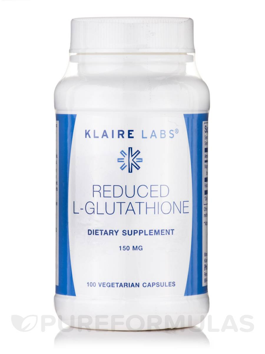 Reduced L-Glutathione 150 mg - 100 Vegetarian Capsules
