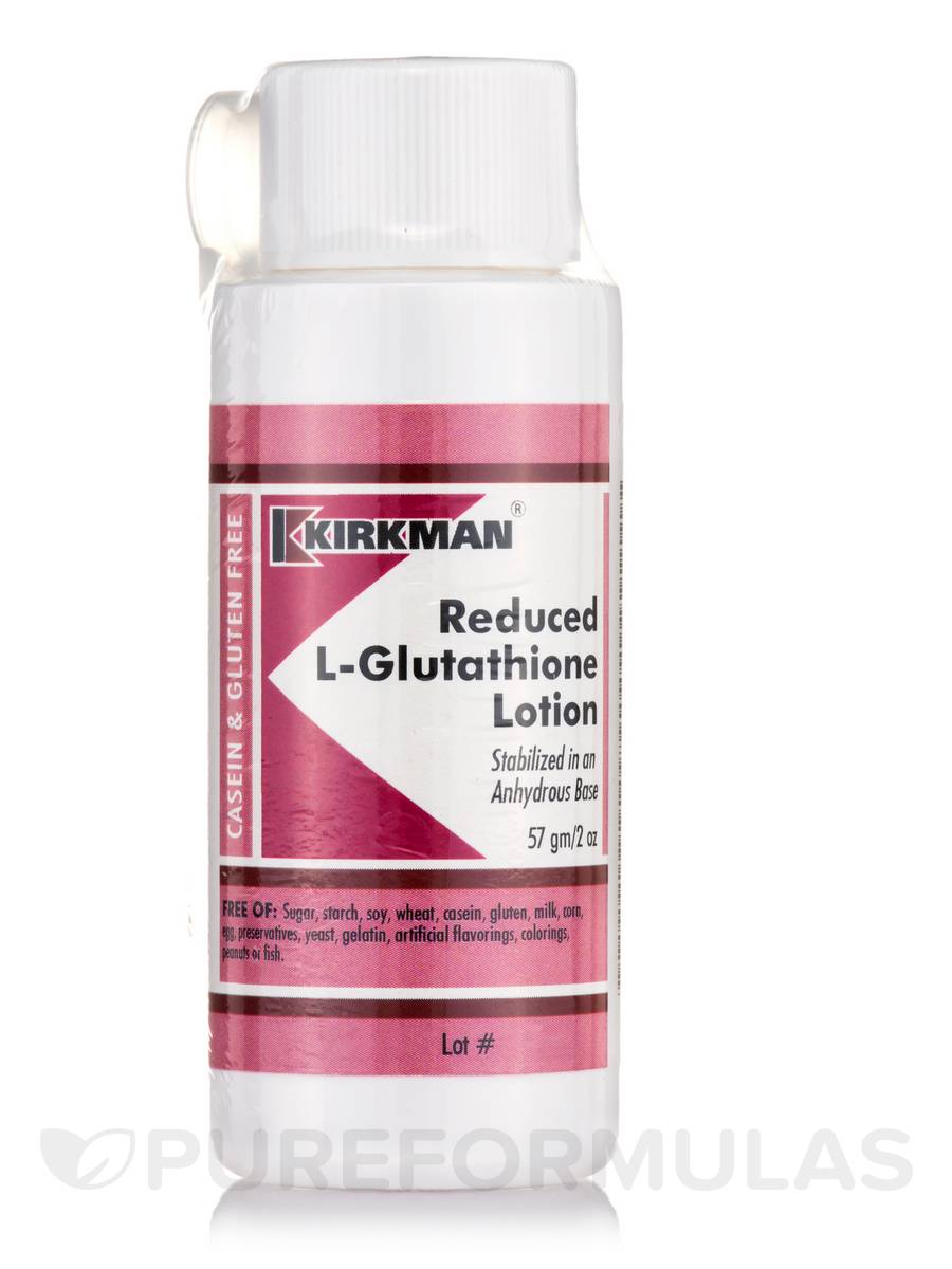 Reduced L-Glutathione Lotion - 2 oz (57 Grams)