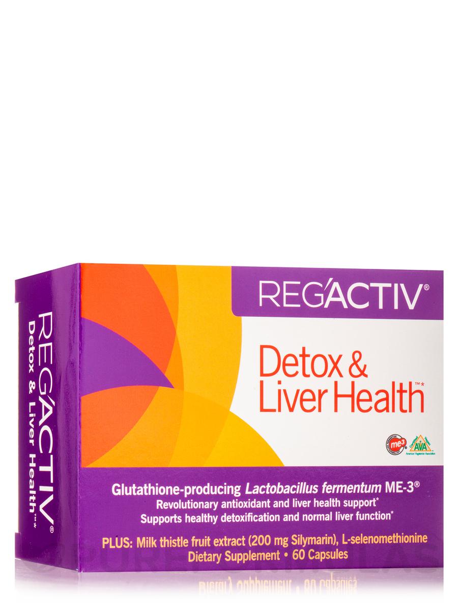 RegActiv™ Detox & Liver Health™ - 60 Capsules