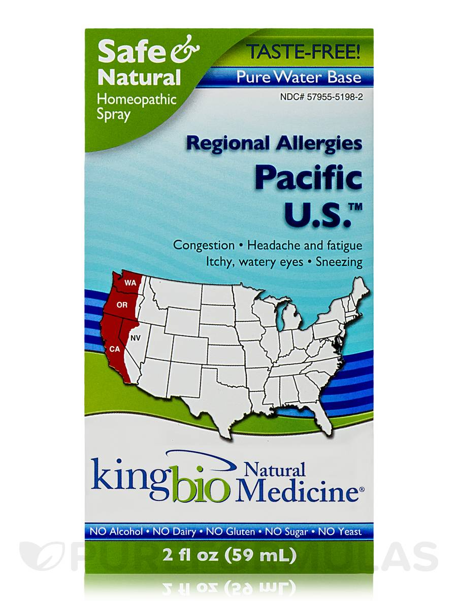 Regional Allergies: Pacific U.S. - 2 fl. oz (59 ml)