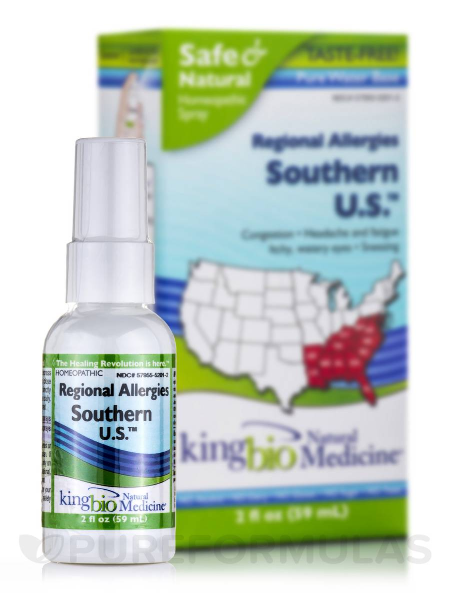 Regional Allergies: Southern U.S. - 2 fl. oz (59 ml)