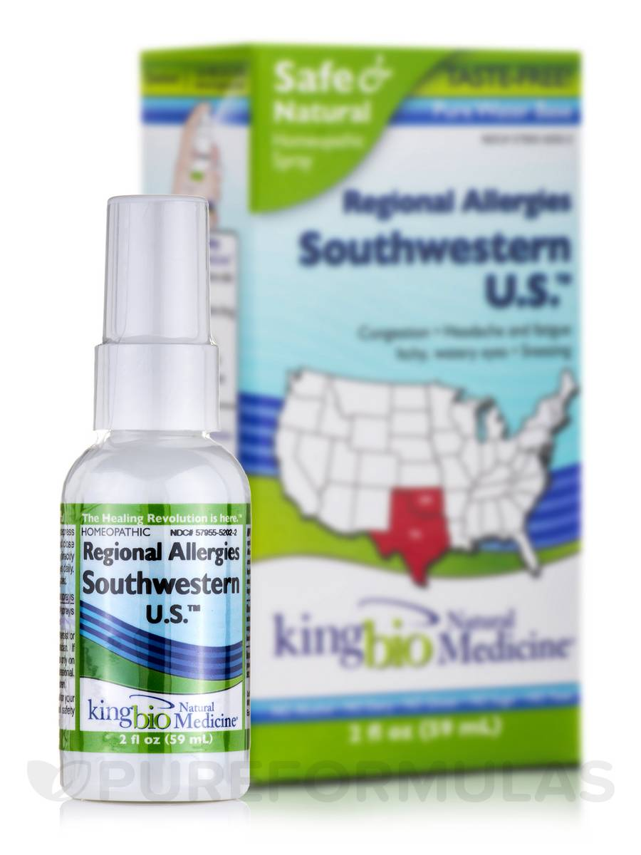 Regional Allergies: Southwestern U.S. - 2 fl. oz (59 ml)