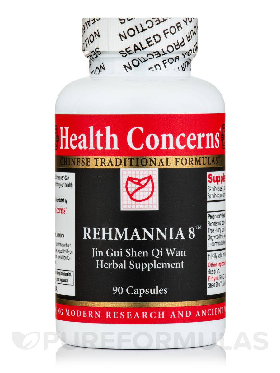 Rehmannia 8 - 90 Tablets
