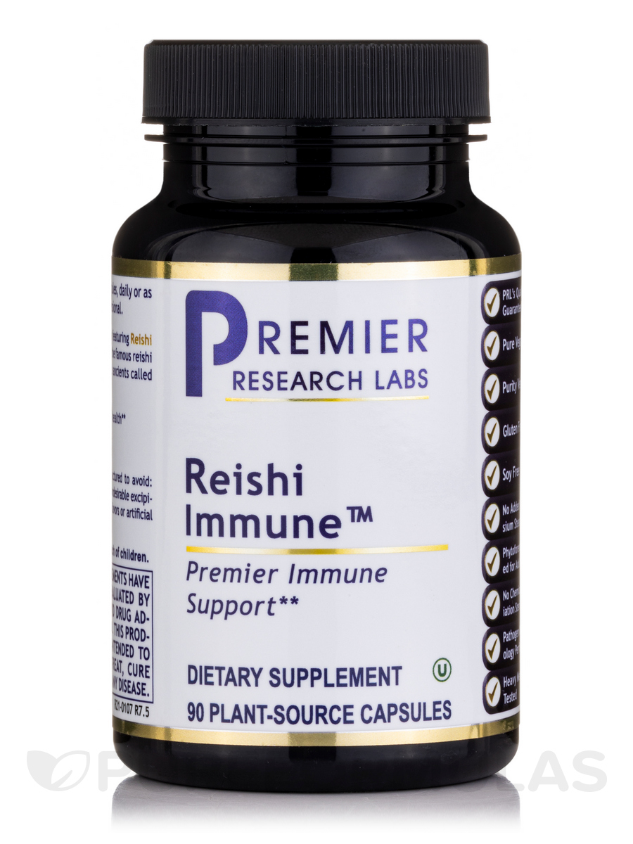 Reishi Immune - 90 Vegetable Capsules