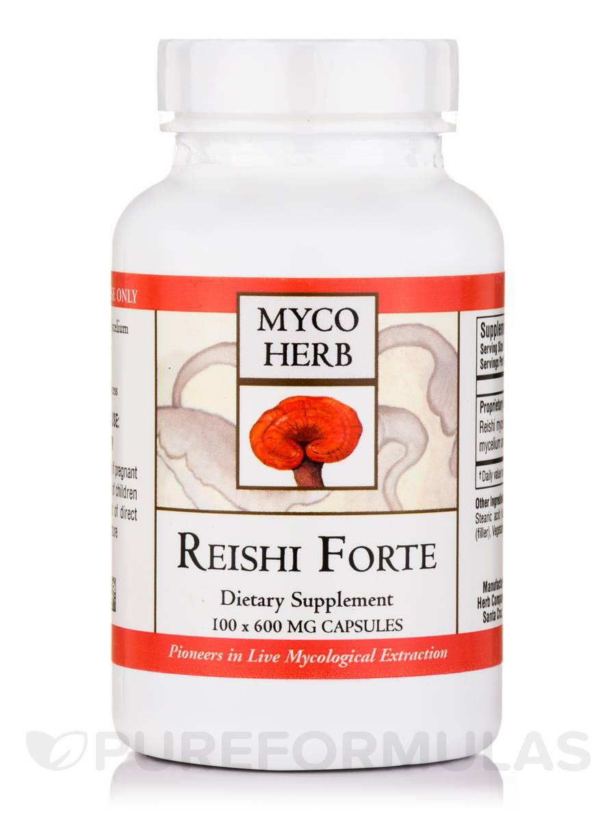 Reishi Forte 600 mg - 100 Capsules