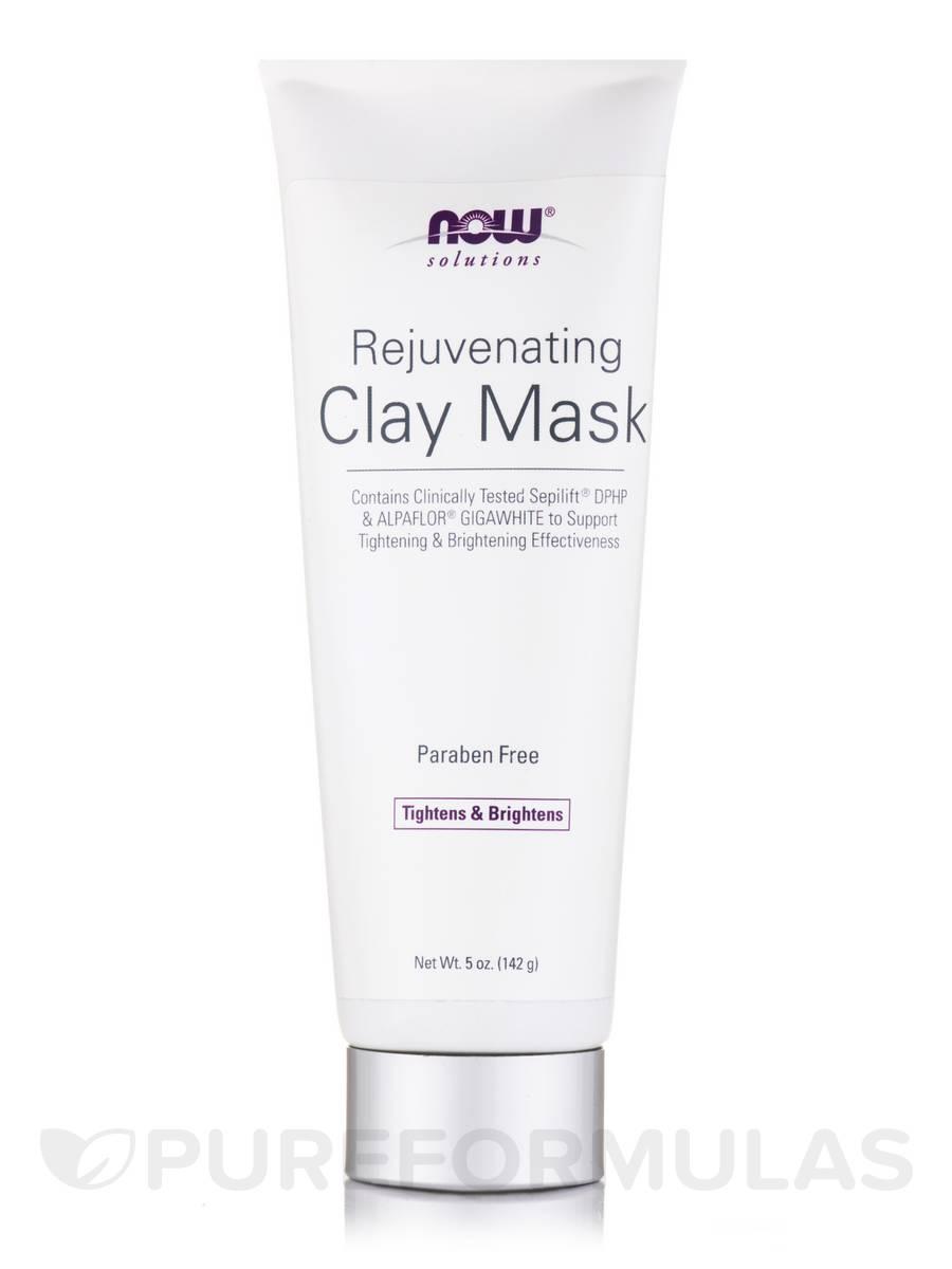 NOW® Solutions - Rejuvenating Clay Mask - 5 fl. oz (142 ml)