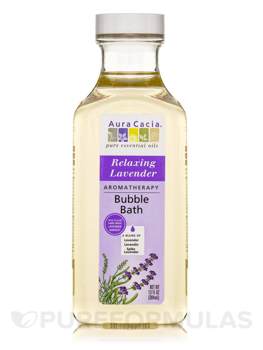 Relaxing Lavender Bubble Bath (Lavender Harvest) - 13 fl. oz (384 ml)