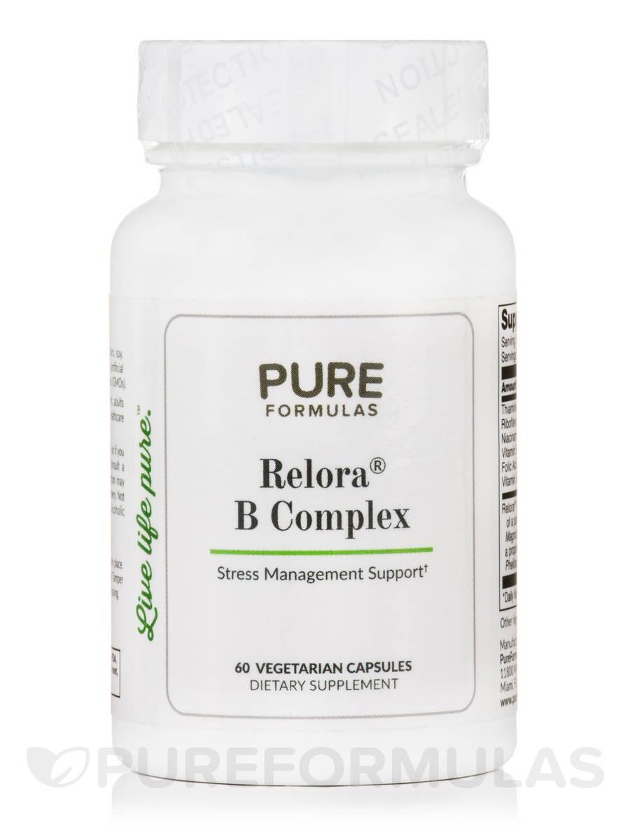 Relora® B Complex - 60 Vegetarian Capsules