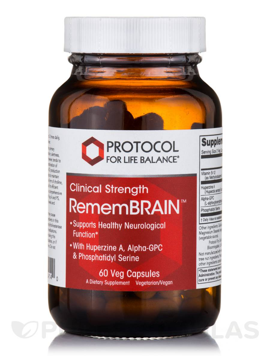 RememBRAIN - 60 Vegetarian Capsules
