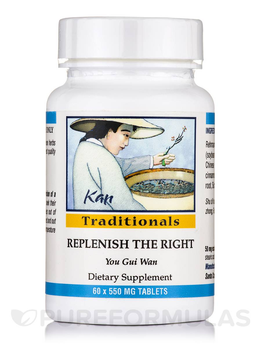 Replenish the Right 550 mg - 60 Tablets