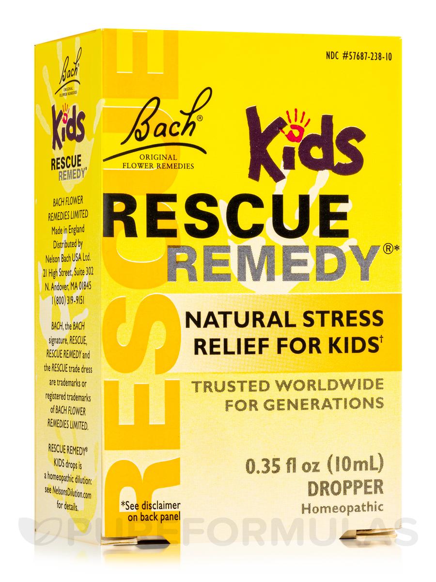 Rescue Remedy Kids - 0.35 fl. oz (10 ml)