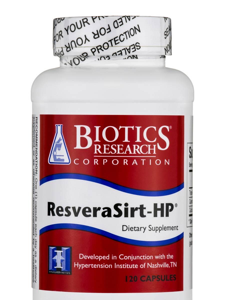 ResveraSirt-HP - 120 Capsules