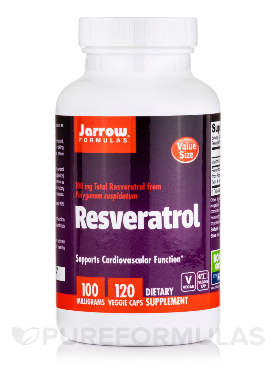 Resveratrol 100 - 120 Vegetarian Capsules