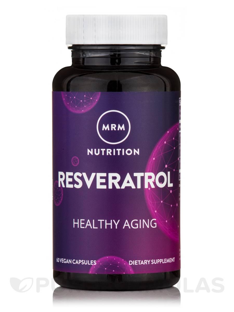 Resveratrol - 100mg Natural Trans-Resveratrol - 60 Vegetarian Capsules