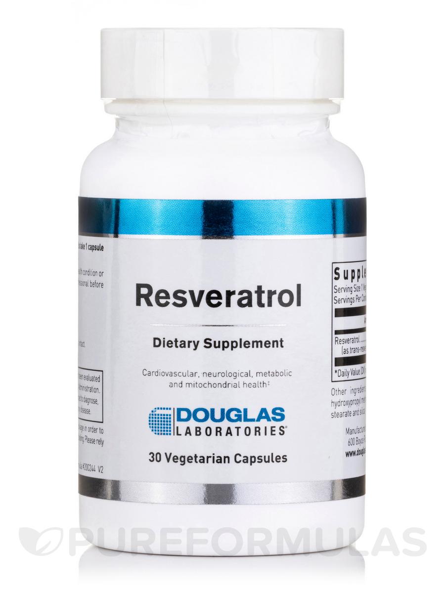 Resveratrol - 30 Vegetarian Capsules